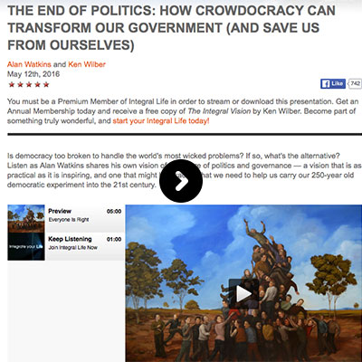 How crowdocracy can transform our government
